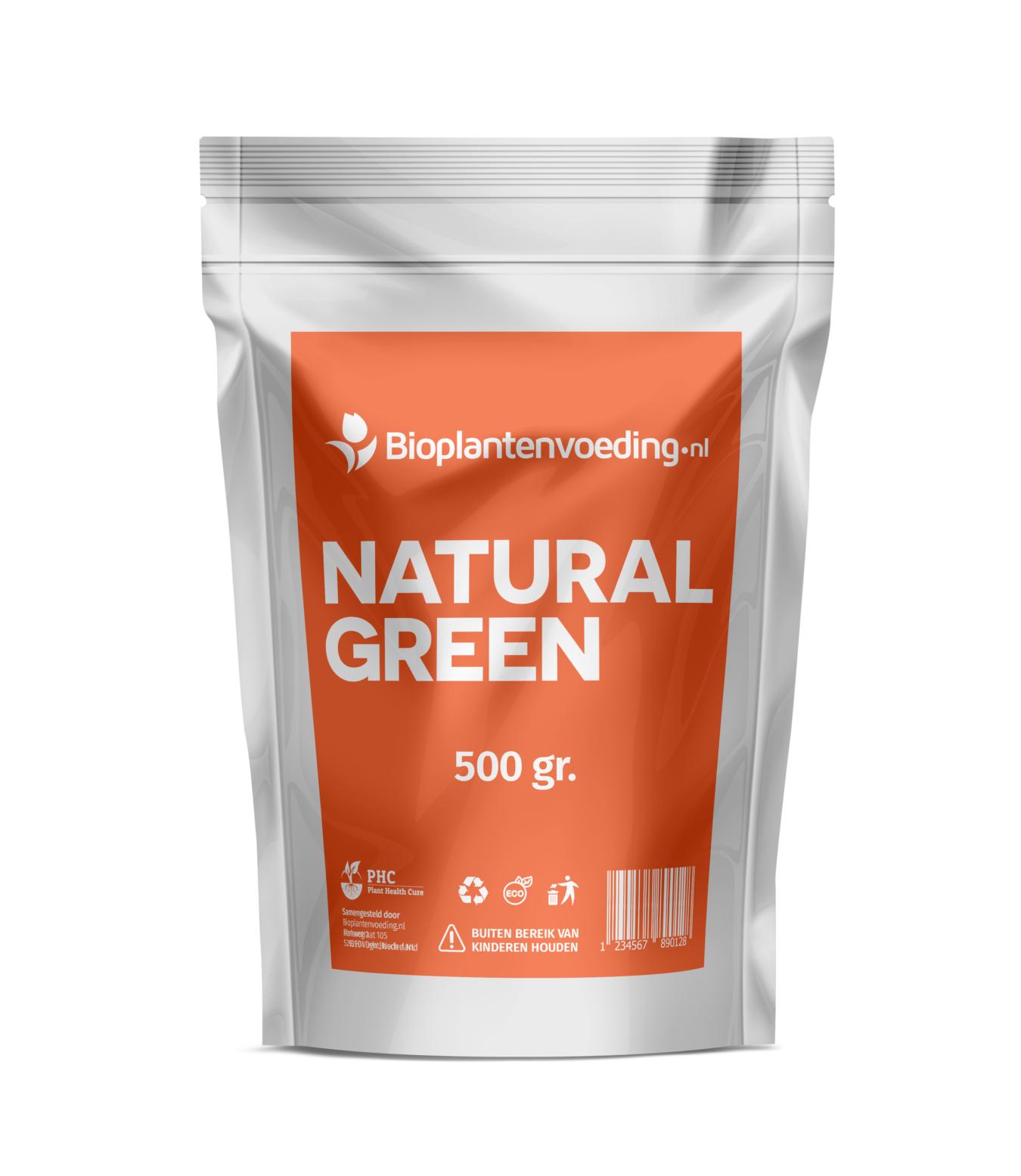 Koop Natural Green Bladmeststof
